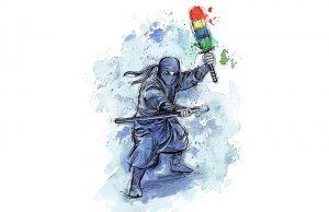 The foolish ninja